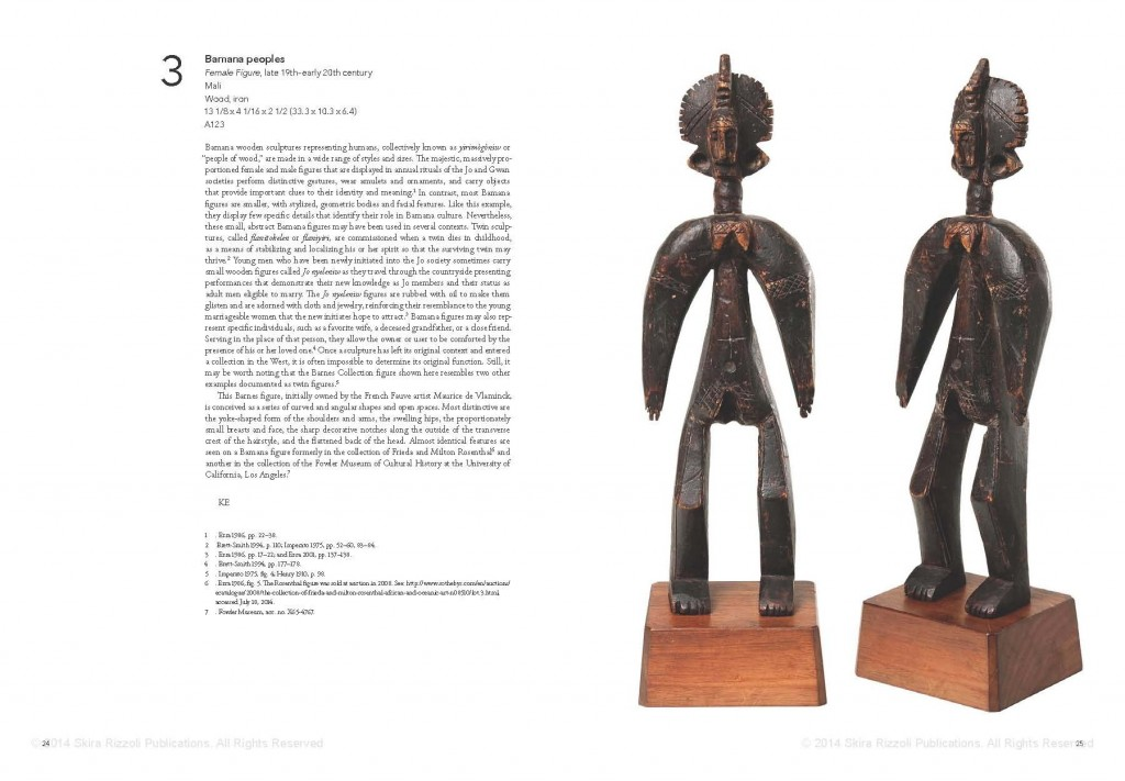 African Art in the Barnes Foundation Bamana Mali