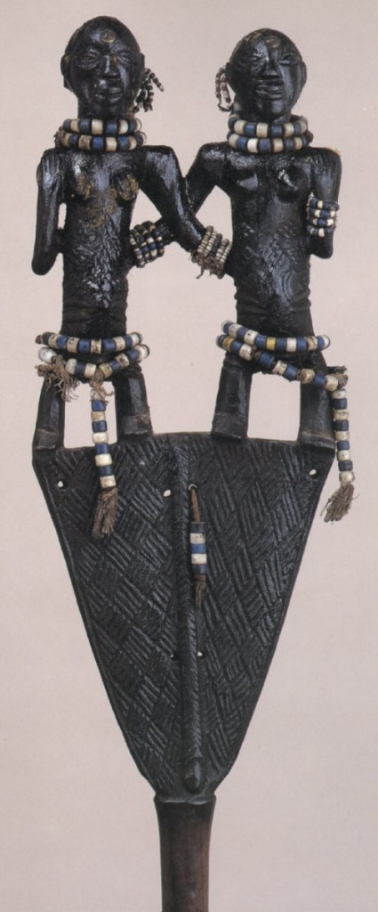 Luba staff. Height: 104 cm. Image courtesy of the Seattle Art Museum.