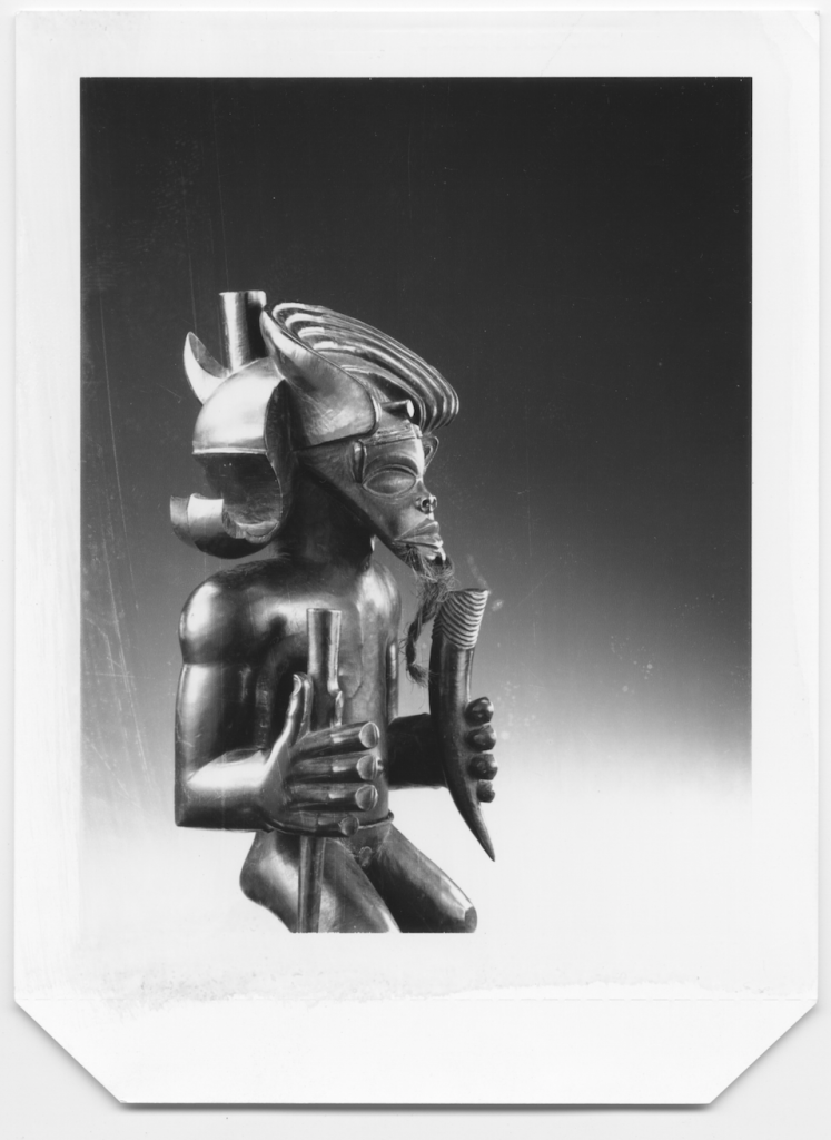 The Chokwe Tshibinda Ilunga figure from the Kimbel Art Museum. Image courtesy of Hughes Dubois, 1988.