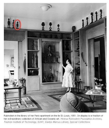 Helena Rubinstein Senufo Paris 1951
