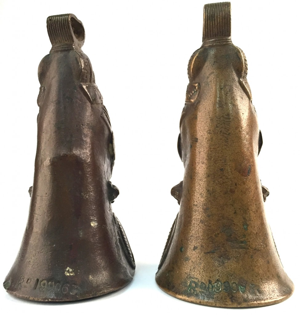 Birmingham Bells UK Nigeria copper bronze