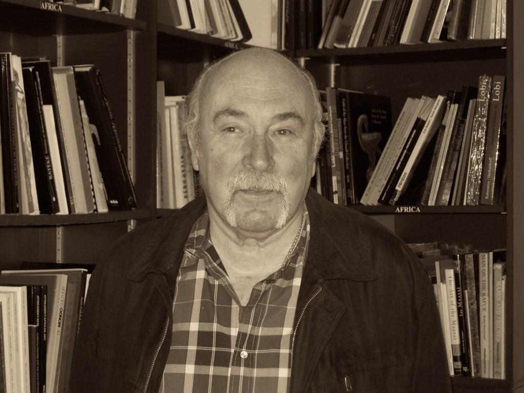 Jean-Pierre Jernander anno 2007 - image courtesy of Guy van Rijn's Who's Who in African Art.