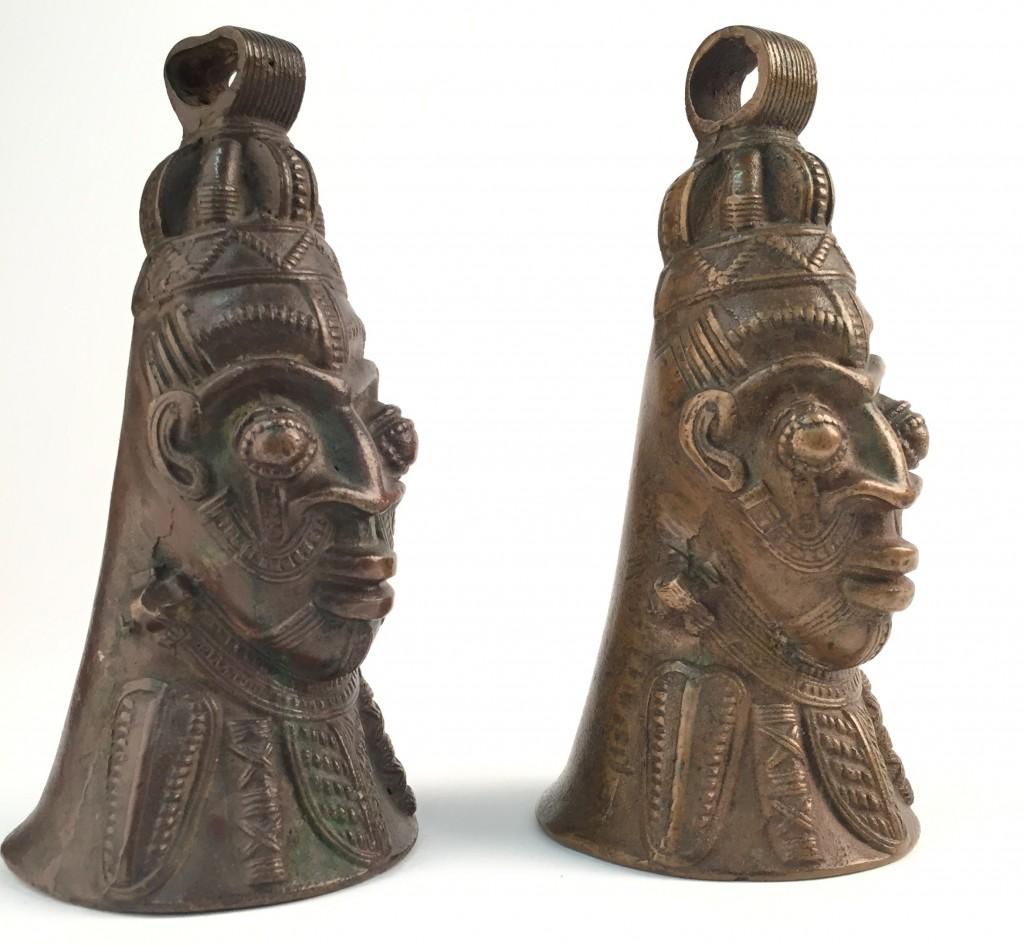 Lower Niger Nigeria copper bronze bell bells cloche