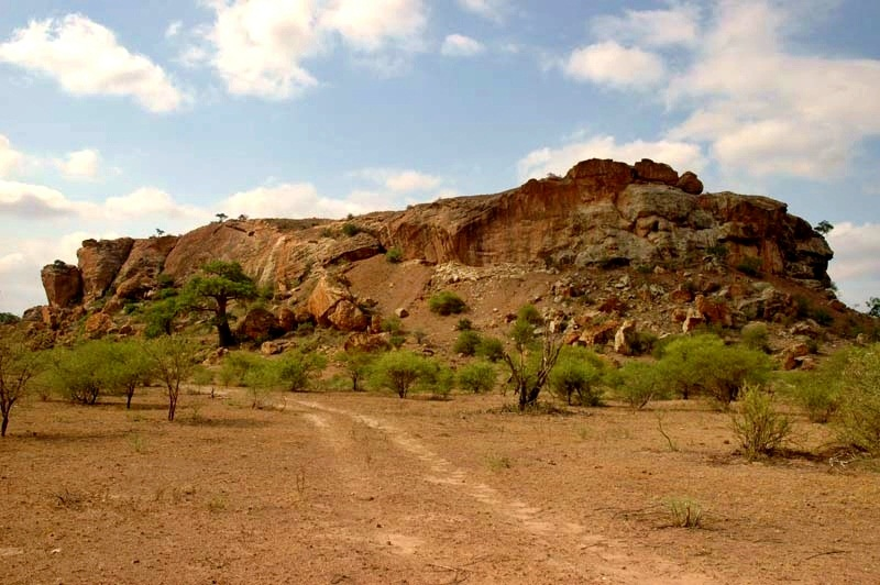 Kingdom of Mapungubwe hill