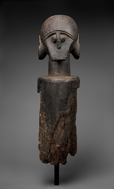 Jukun headdress, Nigeria. Height: 114,3 cm. Image courtesy of The Metropolitan Museum of Art, New York (2015.445). Purchase, Pfeiffer, Leona Sobel Education, 2005 Benefit, and Dodge Funds; Gift of Dr. Mortimer D. Sackler, Theresa Sackler and Family; Andrea Bollt Bequest, in memory of Robert Bollt Sr. and Robert Bollt Jr.; Elaine Rosenberg, James J. Ross, and The Katcher Family Foundation Inc. Gifts, 2015.