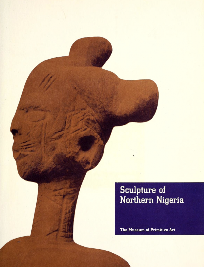 Roy Sieber Sculpture of Northern Nigeria 1961 free pdf