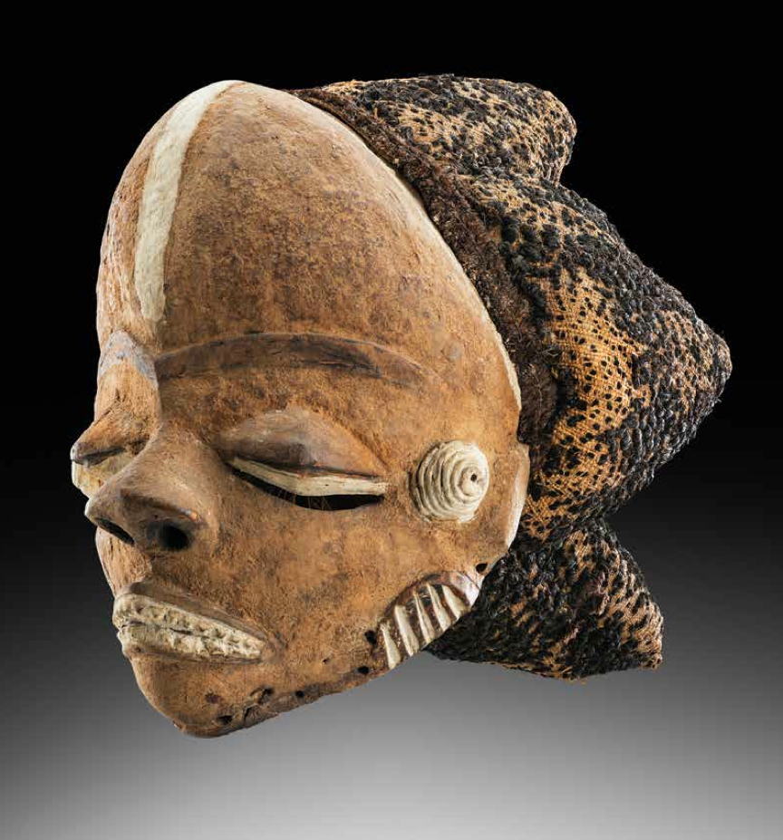 Pende mask, D.R. Congo. Height: 30 cm. Image courtesy of Studio Philippe de Formanoir - Paso Doble.