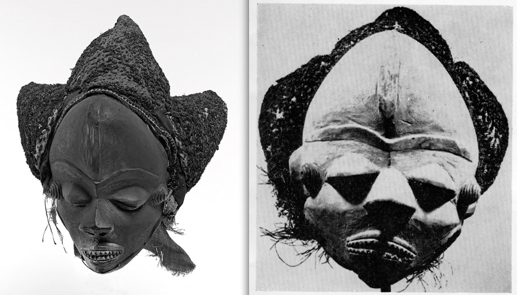 Pende mask pumbu Bruno Claessens Pareyn Etnographic Museum Antwerp