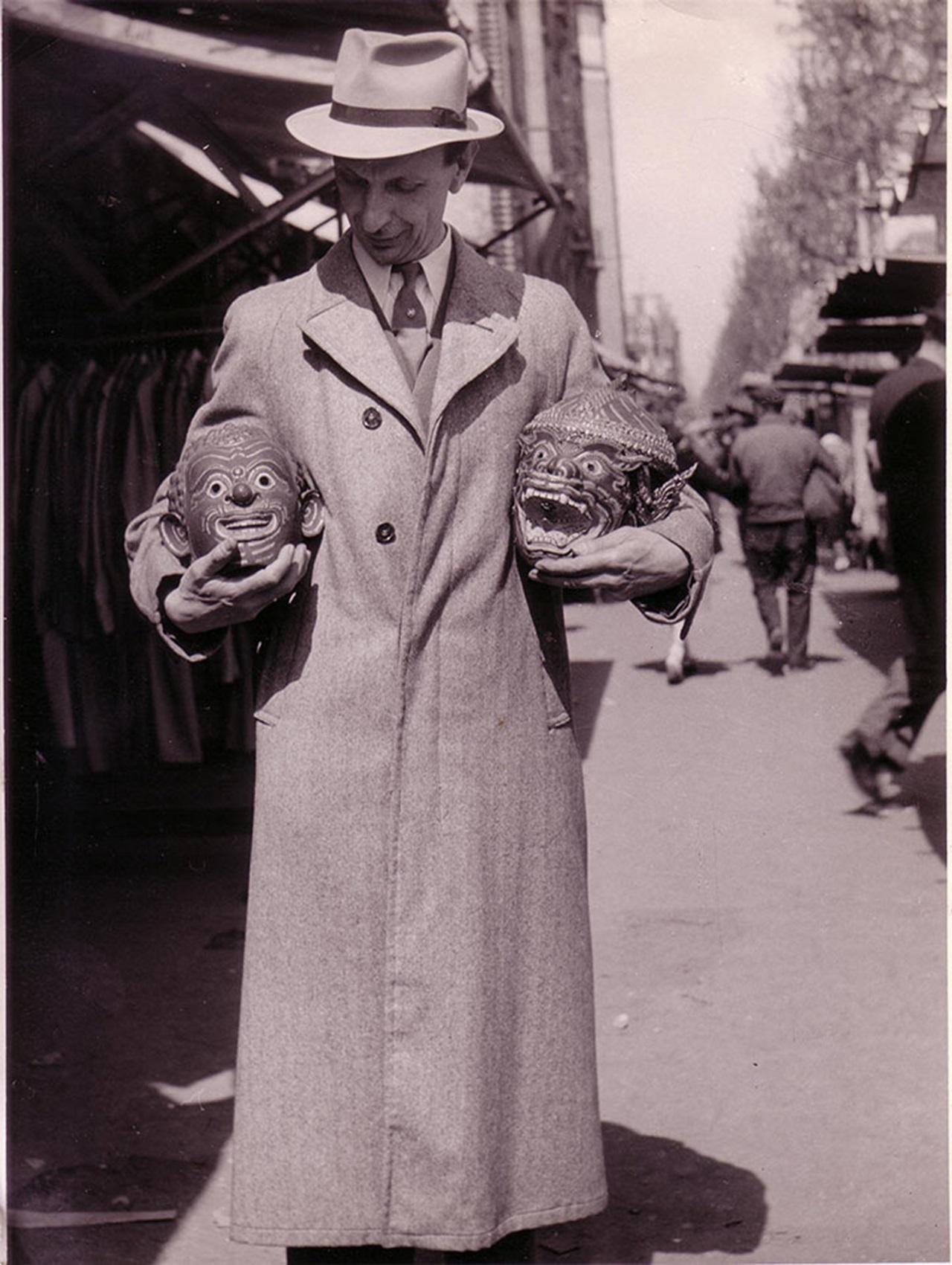 Matthias Lemaire, circa 1950. Photo courtesy of Finette Lemaire.