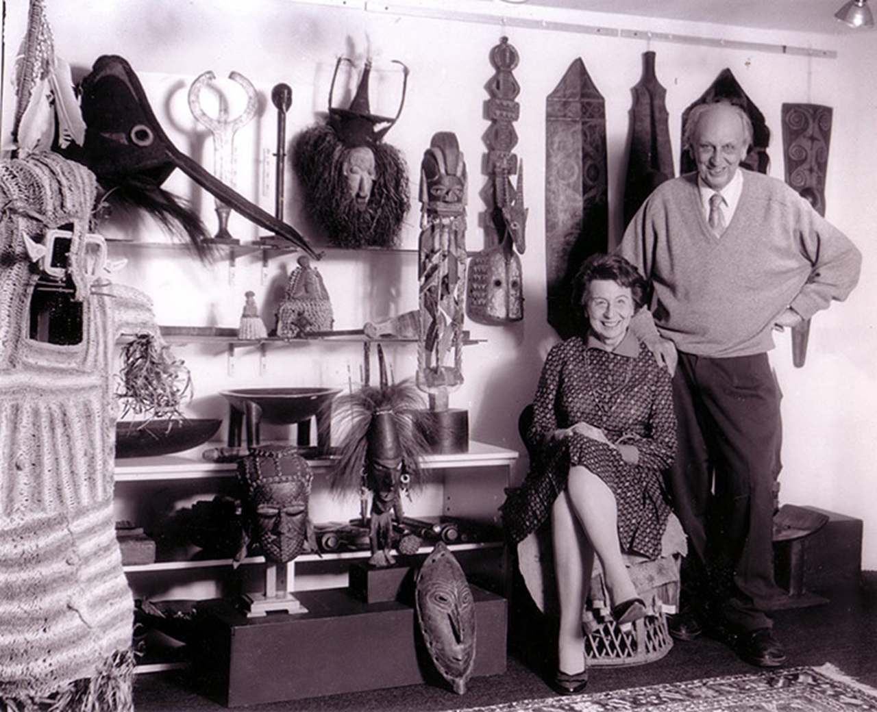 Therese Finette Lemaire and Matthias Lemaire, circa 1970s. Photo courtesy of Finette Lemaire.