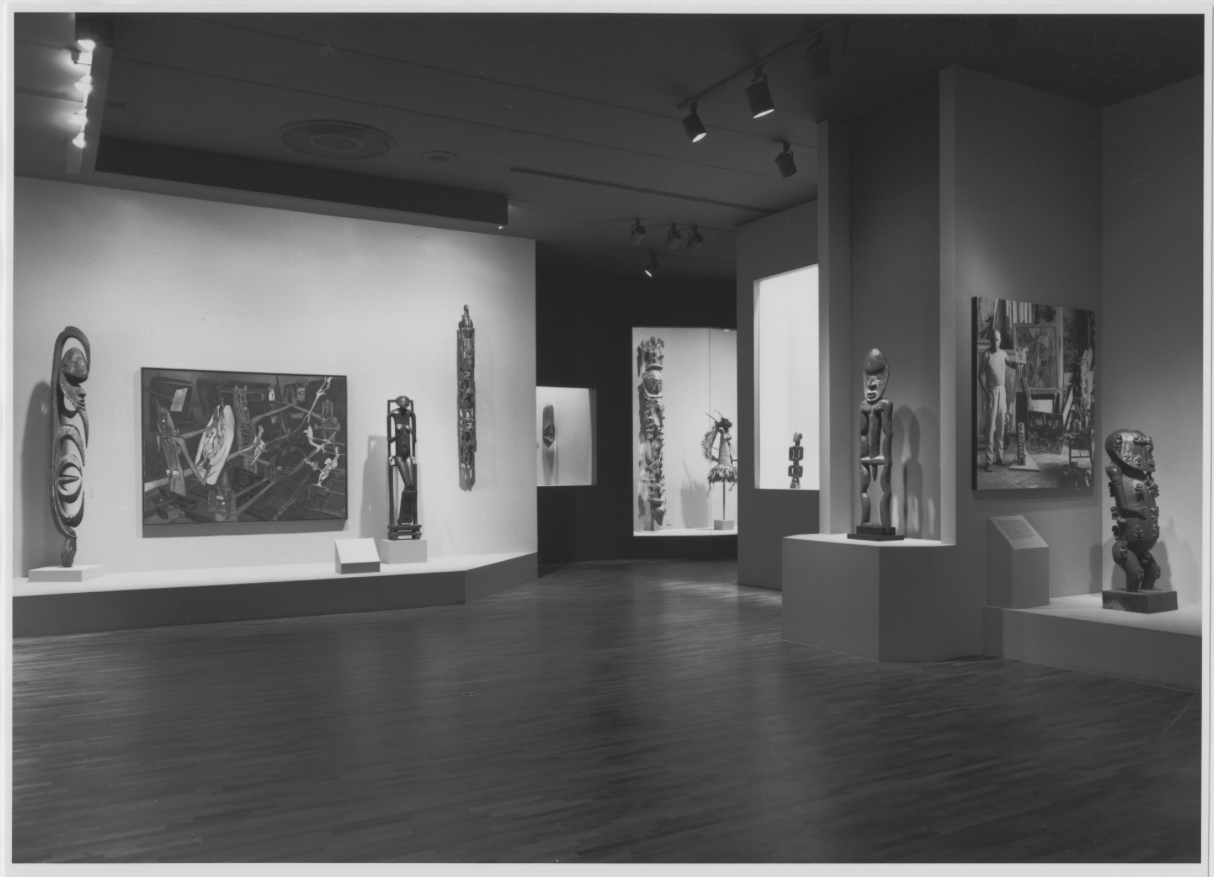 moma s primitivism in 20th century art installation shots available online william rubin. Black Bedroom Furniture Sets. Home Design Ideas