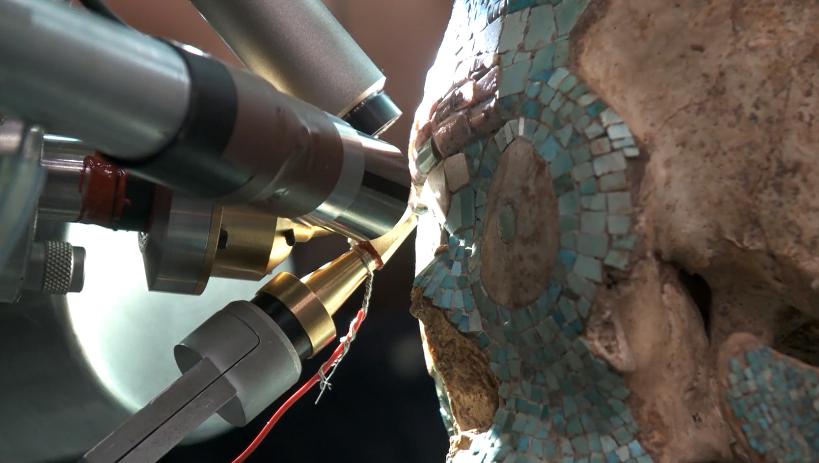 fake-mixtec-skull-museum-volkenkunde-leiden-schedel