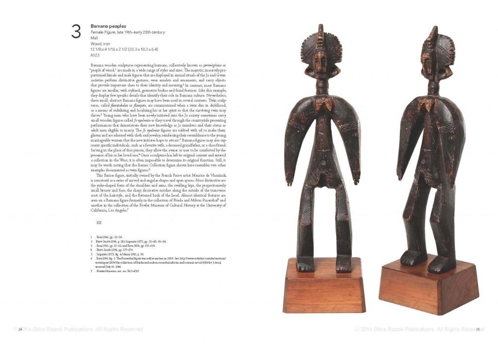 African Art in the Barnes Foundation Bamana Mali