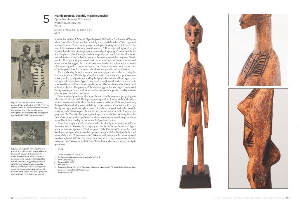 African Art in the Barnes Foundation Mande