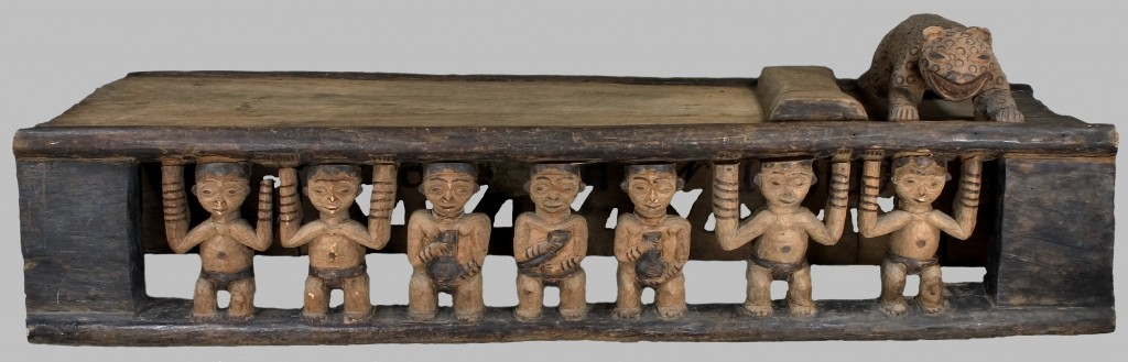 Bed by Phuonchu Aseh or his workshop. Collected by Strumpell in Babanki-Tungo in 1905. Image courtesy of the Staedtisches Museum Braunschweig, Germany.