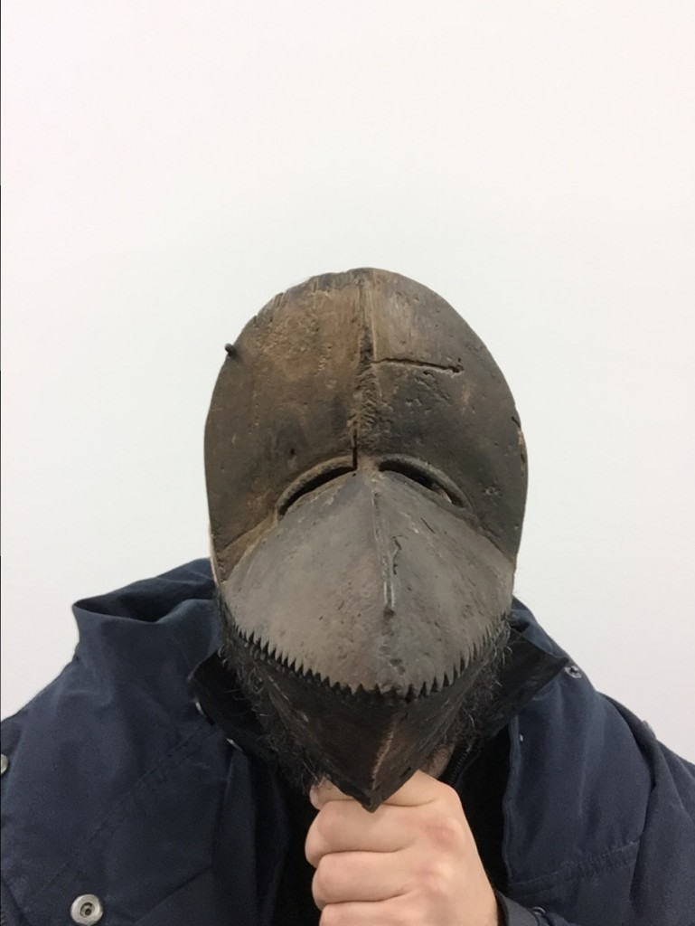 Dan mask selfie test Ivory Coast