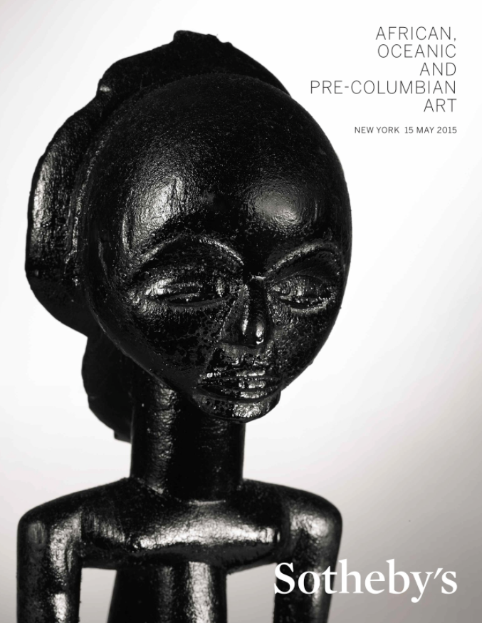Sotheby's New York African Art 15 May 2015
