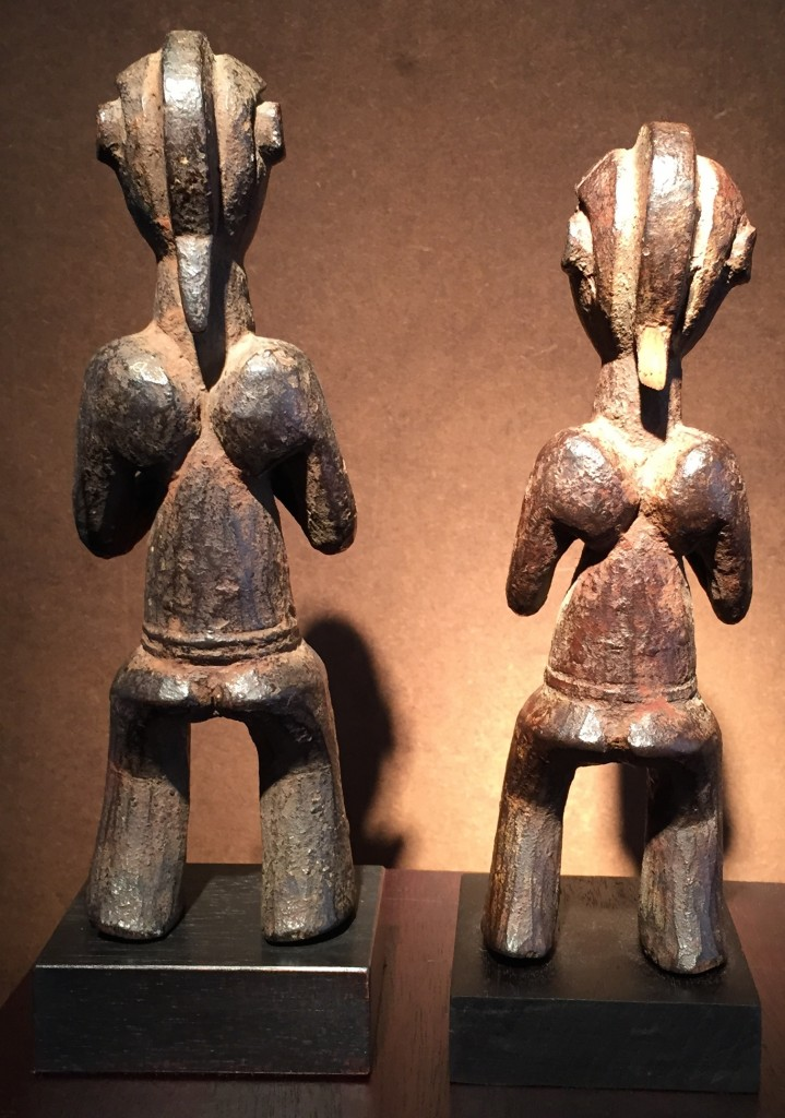 Back Mbala figures Bruneaf Perls Galleries Patric Claes