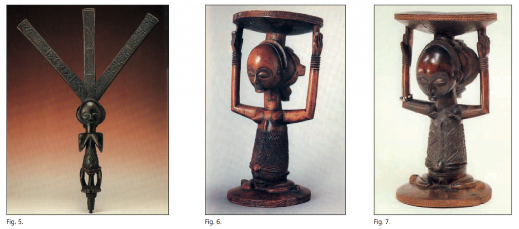 Warua master stools main des maitres Bernard de Grunne