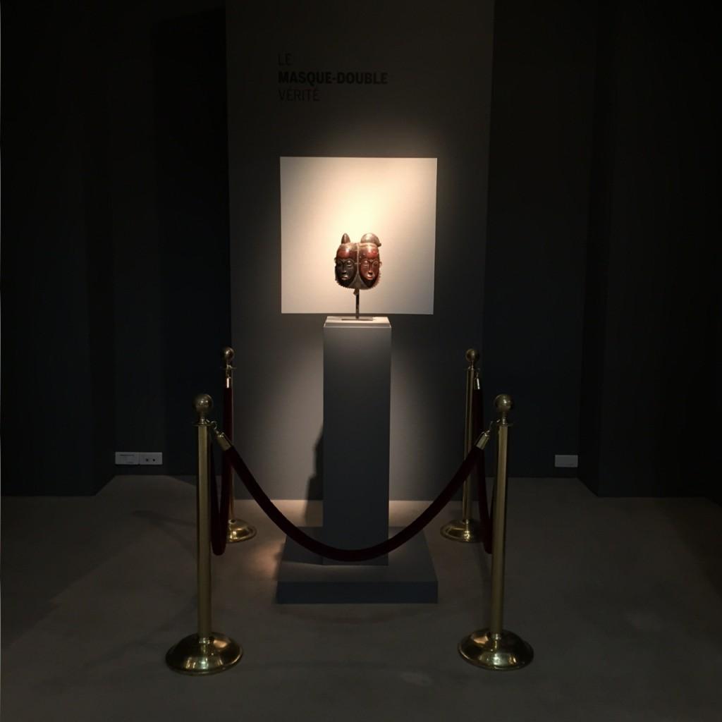 double Baule mask Ivory Coast Verité Sotheby's Bruno Claessens review