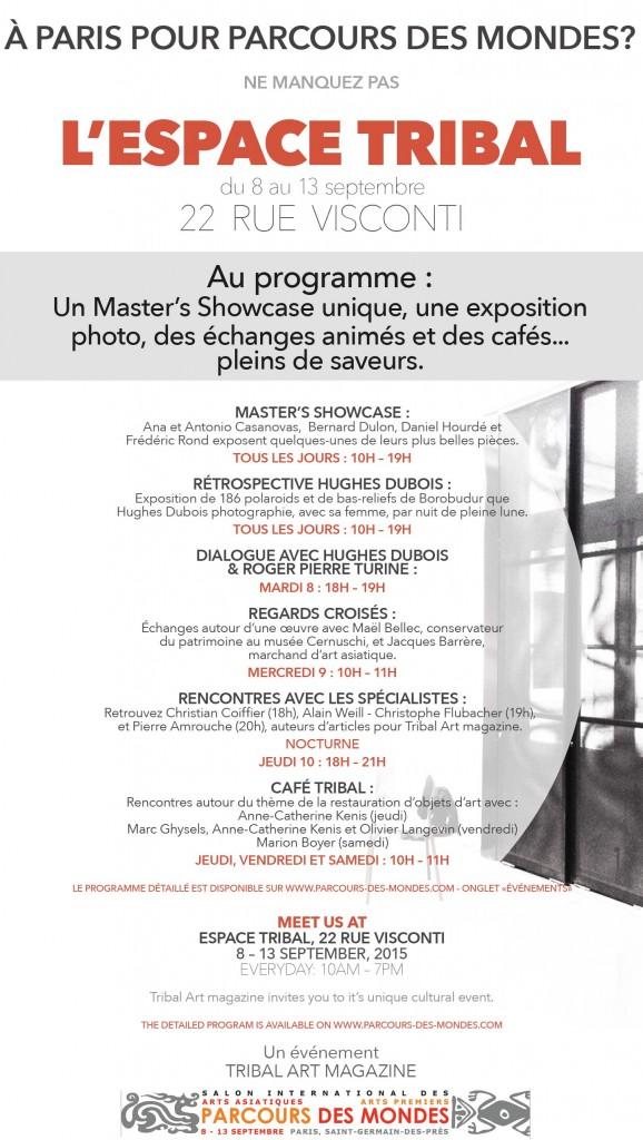 Cafe Tribal Parcours des Mondes 2015