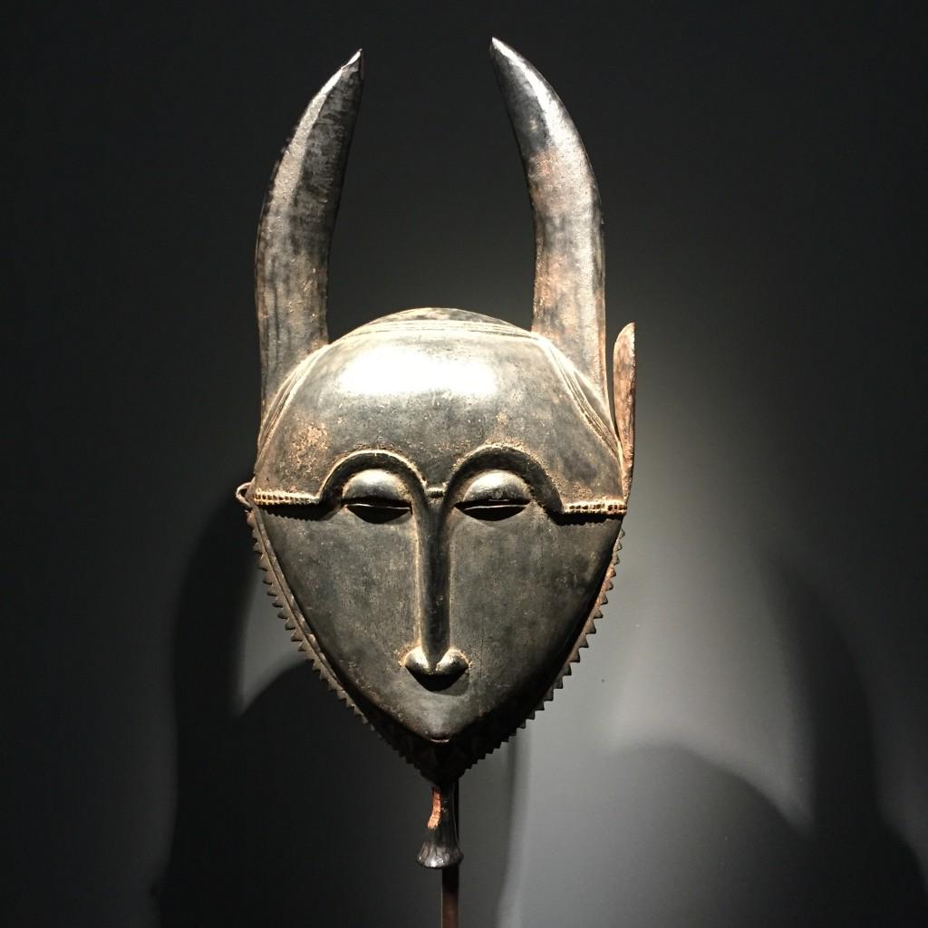 Yaure mask Olivier Castellano Ivory Coast Parcours des Mondes
