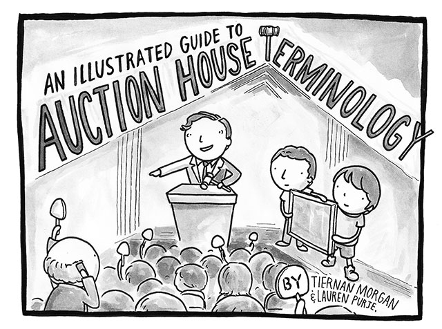 An Illustrated Guide to Auction House Terminology morgan purje