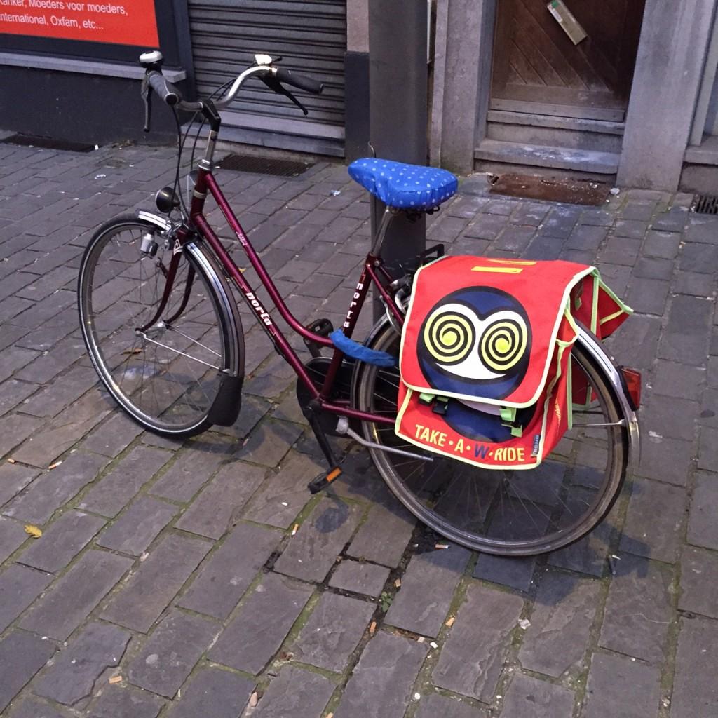 Walter van Beirendonck bicycle bag duk duk Tolai PNG Bruno Claessens blog