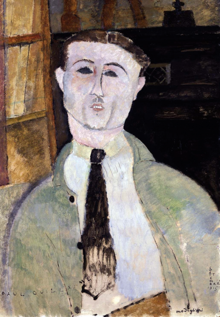 Paul Guillaume by Amedeo Modigliani, 1915. Image courtesy of the Toledo Museum (1951.382).