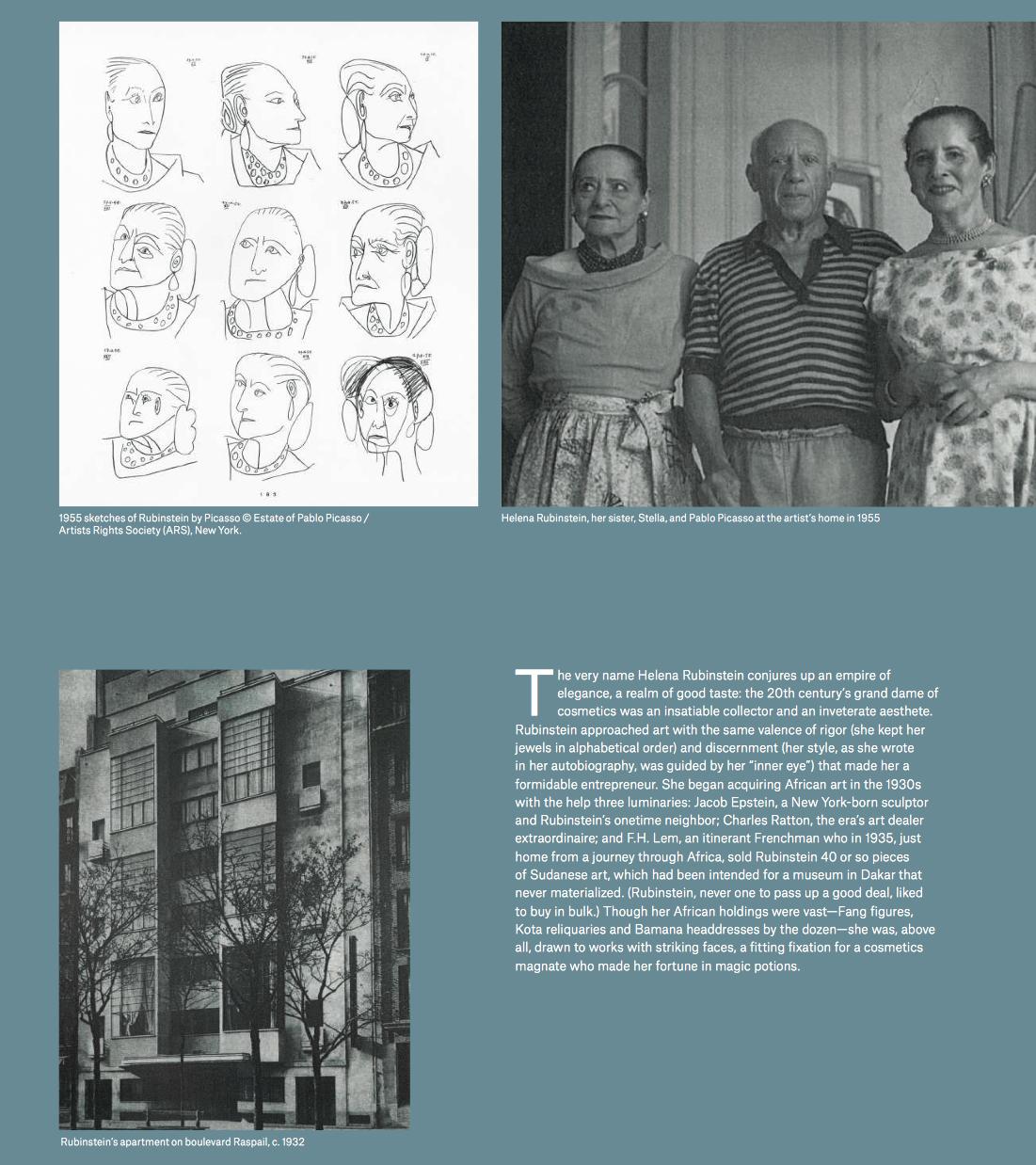 Evolution of form Helena Rubinstein Christie's