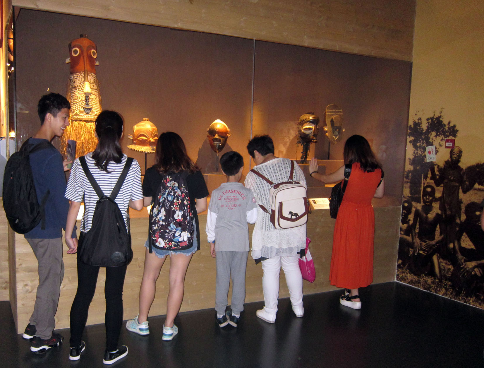 Masks of Central Africa China Marc Felix exhibition 6