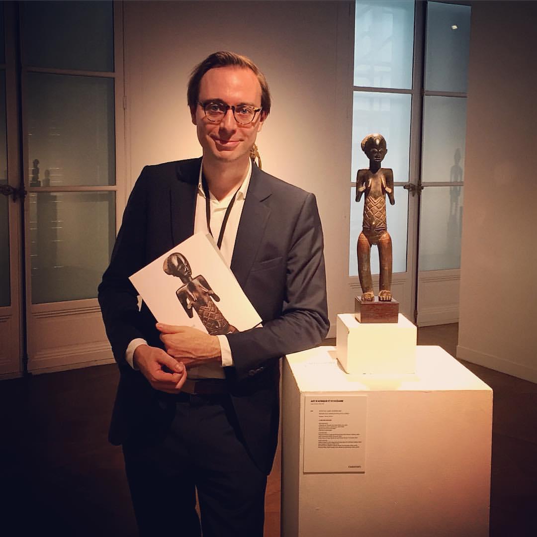 Bruno Claessens Luba-Shankadi statue figure Congo Mwanza Christies 23 June 2016