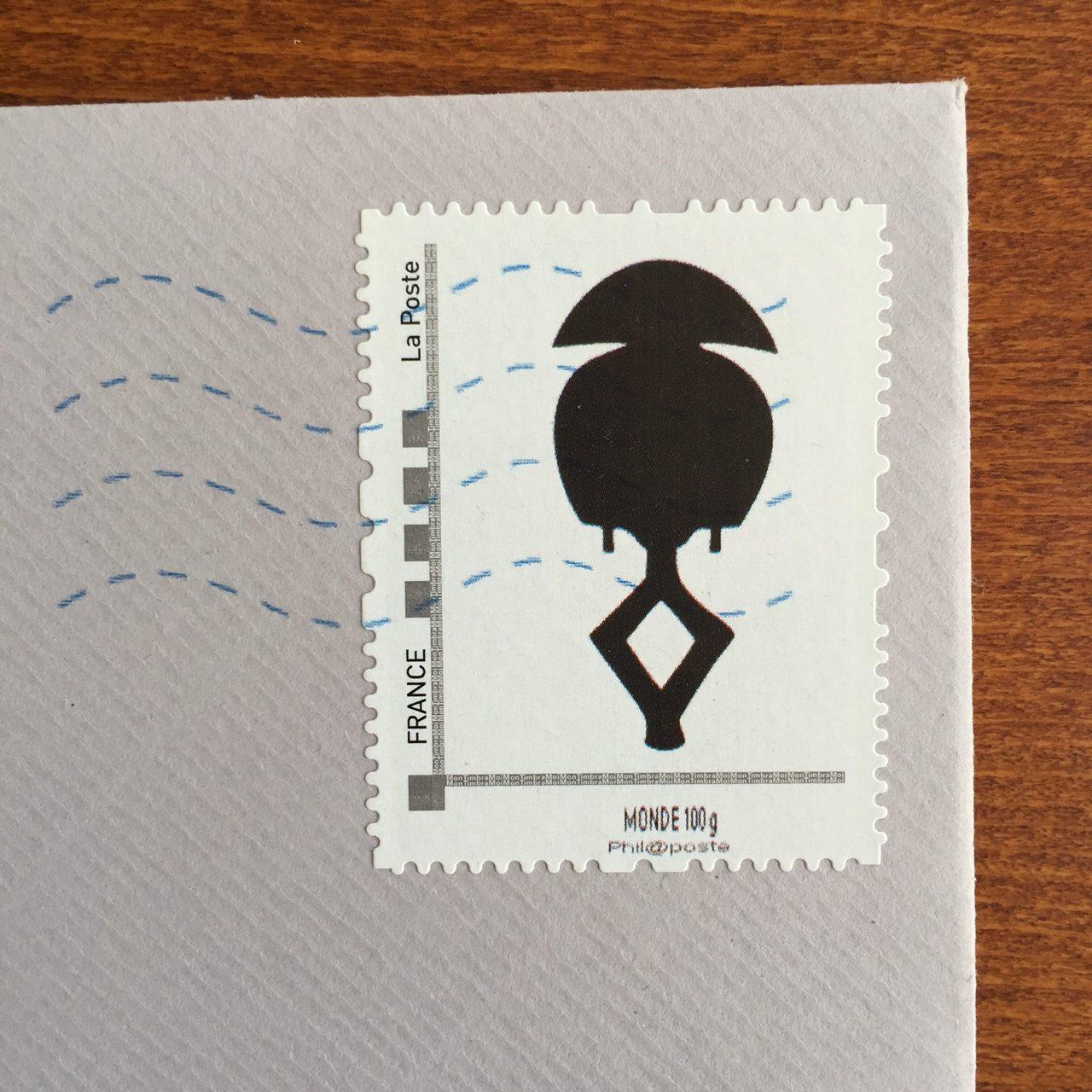 Stamp timbre Lucas Ratton 2015