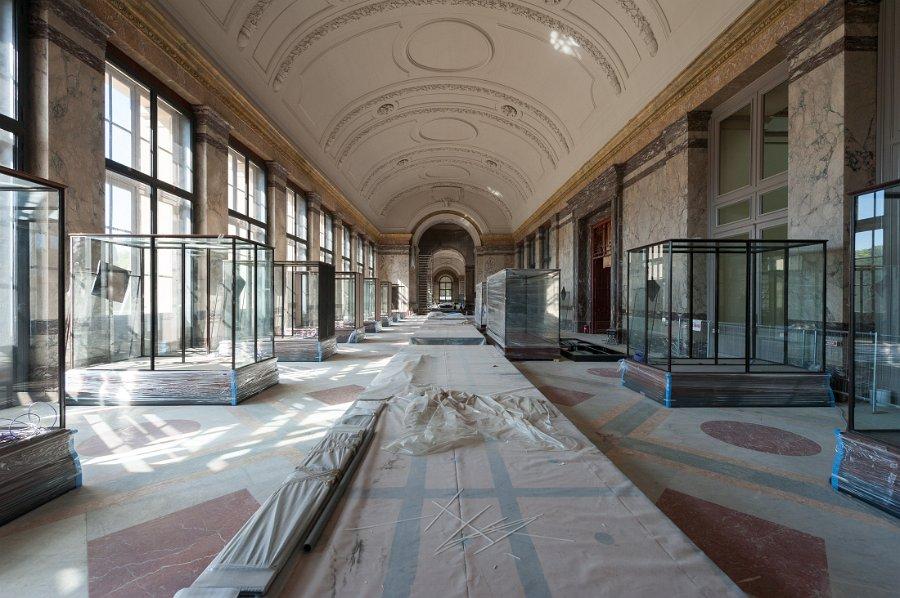 renovation MRAC Tervuren African art museum